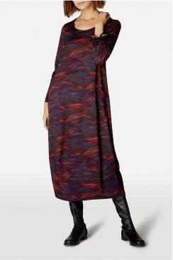 KINETIC JERSEY BUBBLE DRESS
