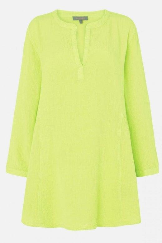 Sahara Clothing LIGHT CRINKLE LINEN TUNIC