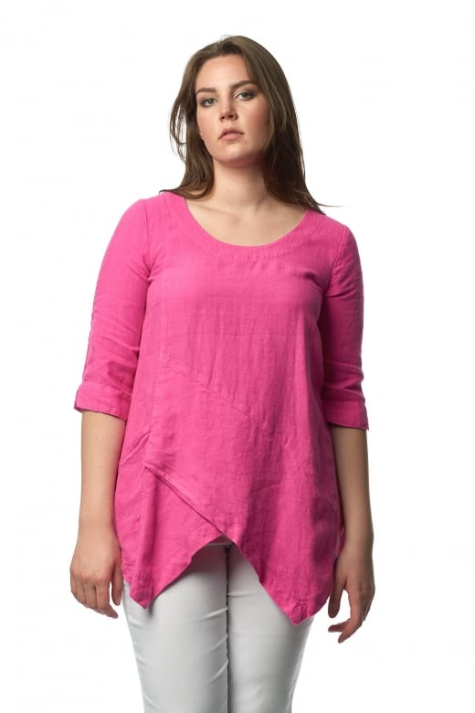 Sahara Clothing LINEN ASYMMETRIC TUNIC