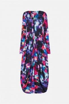 MALI PRINT JERSEY DRESS