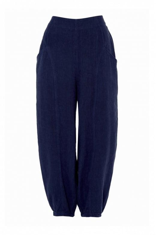 Sahara Clothing NEW TEXTURED LINEN BUBBLE PANT