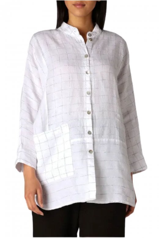 Sahara Clothing PATCHED TWISTED YARN SHIRT