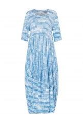 SCRIBBLE MONO PRINT DRESS