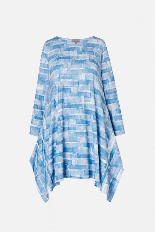 Sahara Clothing SCRIBBLE MONO PRINT TUNIC