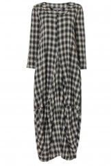 SHADOW CHECK BUBBLE DRESS