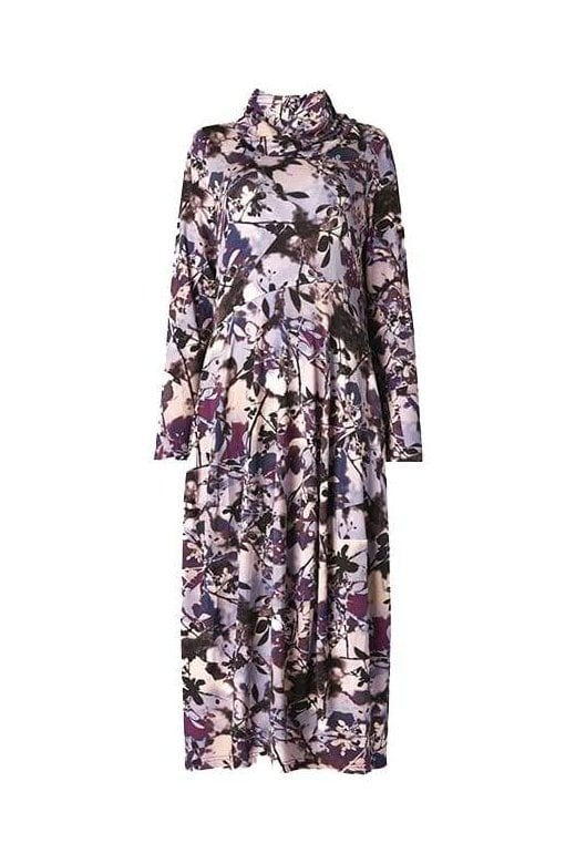Sahara Clothing SHADOW FLOWER PRINT DRESS