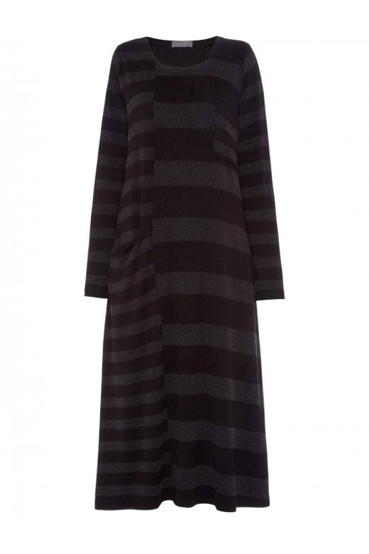 Sahara Clothing SOFT STRIPE JERSEY DRESS