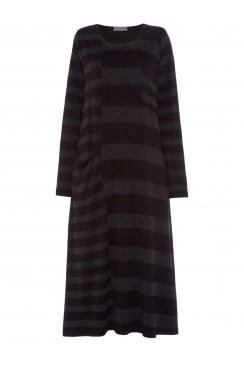 SOFT STRIPE JERSEY DRESS