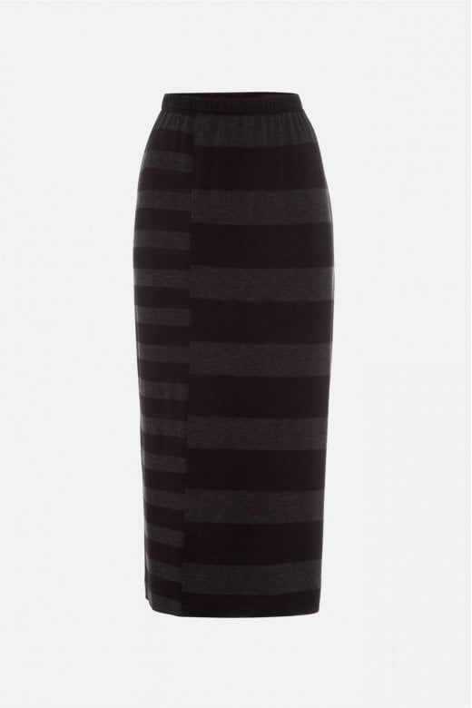 Sahara Clothing SOFT STRIPE JERSEY TUBE SKIRT