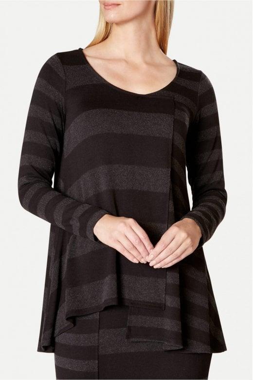 Sahara Clothing SOFT STRIPE TOP