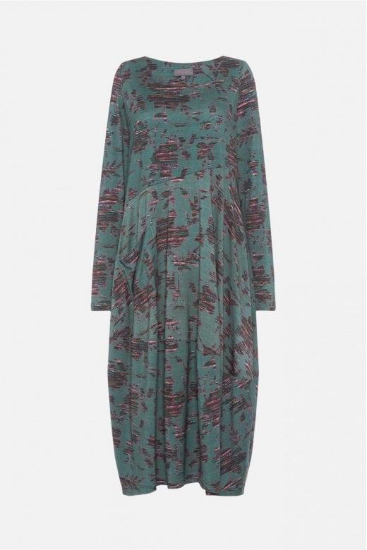 Sahara Clothing TAPASTRY FLORAL JERSEY DRESS
