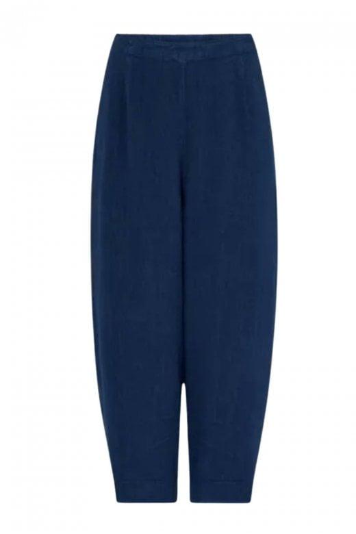 Sahara Clothing TEXTURE LINEN CROP BUBBLE PANT
