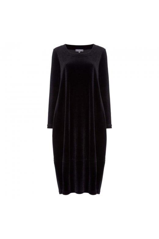Sahara Clothing VELVET JERSEY BUBBLE DRESS