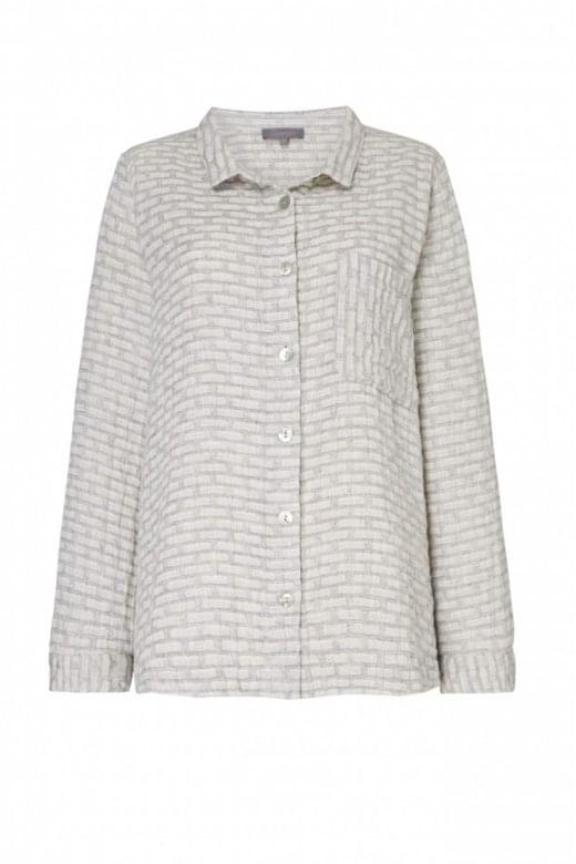 Sahara Clothing WEAVE LINEN SHIRT