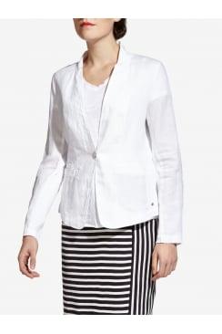 Linen Combo Jacket
