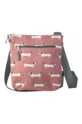 SAUSAGE DOG MESSENGER BAG