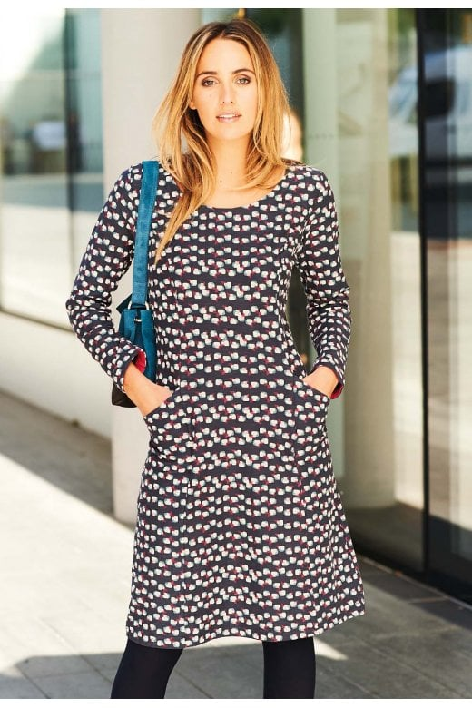 5e4b671ebb3 Adini SELINA DRESS MAXWELL PRINT - Adini from Sariska UK