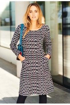 SELINA DRESS MAXWELL PRINT