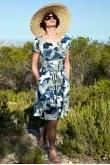 Nomads Clothing SHORT SLEEVE FLARE DRESS