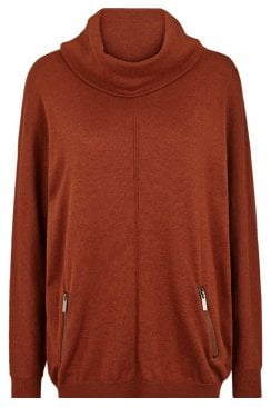 LONG SLEEVE ROLL NECK PULLOVER